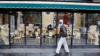 Geschlossenes Lokal in Paris
