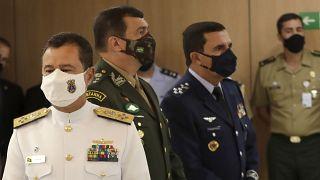 Новое руководство вооруженных сил Бразилии.