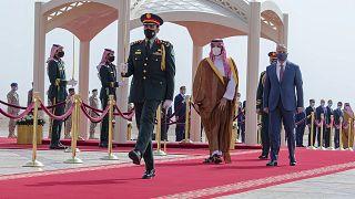 السعودية نيوز |      رئيس الوزراء العراقي يسعى في الرياض لتهدئة المخاوف الأمنية السعودية