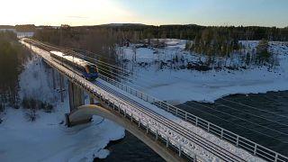 Πρώτη σιδηροδρομική σύνδεση Φινλανδίας-Σουηδίας