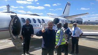 Alexander Zingman e Paolo Persico arrivano in Zimbabwe dopo essere stati rilasciati