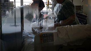 Service de réanimation de l'hôpital d'Amiens, 30 mars 2021