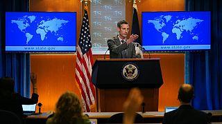 ند پرایس، سخنگوی وزارت امور خارجه ایالات متحده آمریکا