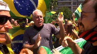 Bolsonaro supporters, protesters clash at Brazil demo