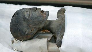 یکی از اجساد مومیاییشده به جامانده از دوران مصر باستان