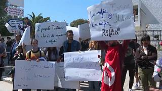Angry protest in Tunisia over garbage shipment from Italy