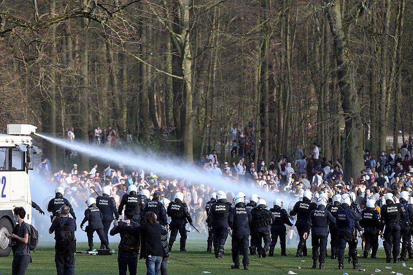 Belgium. April 1, 2021. Francois Walshaerts/AFP