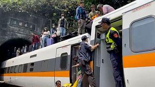 حادثه قطار در تایوان