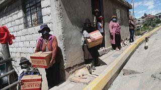 Ekvador'da gıda yardımı / Arşiv