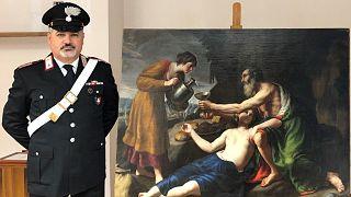 Nicolas Poussin tablosu