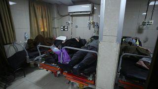 قوائم انتظار وأقسام عناية مركزة مكتظة بمصابي كورونا في مستشفيات دمشق