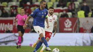 Abwehr-Routinier Leonardo Bonucci beim Länderspiel Italien - Polen 2020