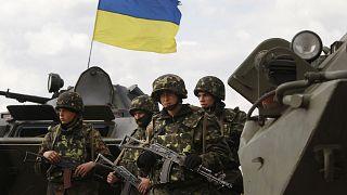 Ukrayna ordusuna mensup askerler (arşiv)