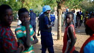 سرباز حافظ صلح سازمان ملل متحد در مالی