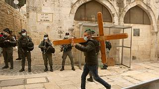 Karfreitag 2021 in Jerusalem