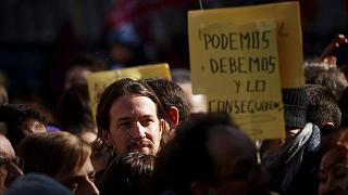 Podemos leader Pablo Iglesias has condemned the attack on the offices in Cartagena