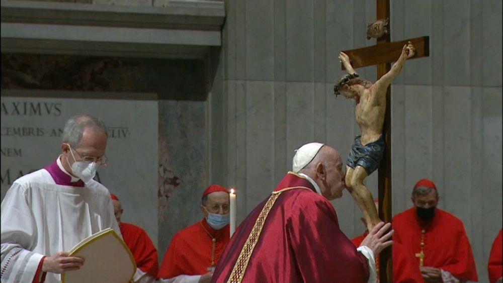 A Vatikán kihalt, Jeruzsálem viszont megtelt zarándokokkal