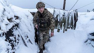 سرباز ارتش اوکراین