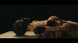 Mumienparade zieht durch Kairo