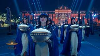 """""""Золотой парад фараонов"""" в Каире"""