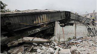 5 قتلى على الأقل في انهيار مبنى سكني مؤلف من ثلاث طوابق في بانكوك