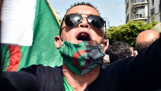 صورة من الحراك في الجزائر