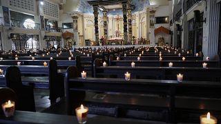 La pandemia ha impedido la celebración de las tradicionales procesiones de Semana Santa.