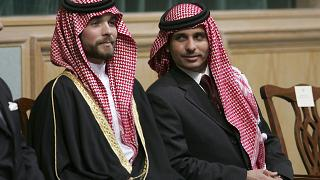 الأمير حمزة بن الحسين والأمير هاشم بن الحسين