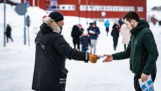 Wahlkampf in Grönlands Hauptstadt Nuuk