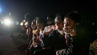 Flüchtlinge an der Grenze zwischen den USA und Mexiko