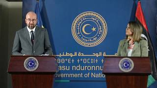EU's Michel visits Libya as nation battles instability and coronavirus