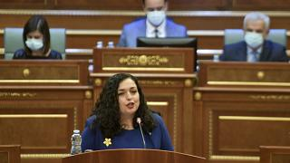 Η Βιόσα Οσμάνι εξελέγη πρόεδρος του Κοσόβου