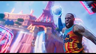NBA baller Lebron James stars in ''Space Jam'' classic sequel