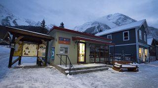 مركز بريد في منطقة كولومبيا البريطانية غربي كندا
