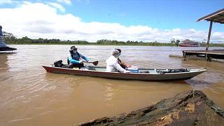 Amazonas: Mit dem Kanu zum impfen