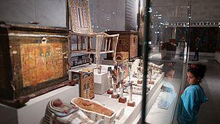 Inauguração do novo Museu Nacional da Civilização Egípcia