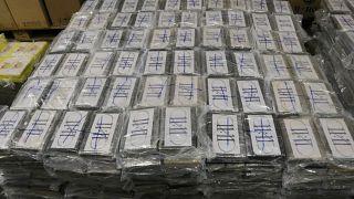 صورة من الارشيف - أطنان من الكوكايين المهربة