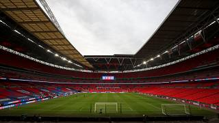 Thousands of spectators will return to Wembley stadium this month for FA Cup and League Cup fixtures