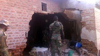 Nijerya'da hapishaneye yapılan bir saldırı (arşiv)