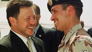 eski Veliaht Prens Hamza bin Hüseyin ile Kral 2. Abdullah