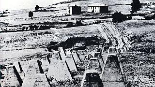 Αντιαρματικές περιφράξεις στη γραμμή Μεταξά, 1941