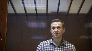 Алексей Навальный в суде.