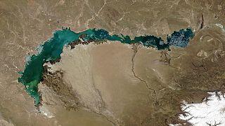 Balkaş Gölü - Kazakistan