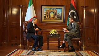 Mario Draghi in Libia