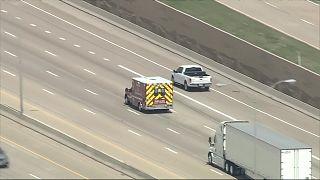 مطاردة سيارة إسعاف مسروقة في ولاية تكساس الأمريكية