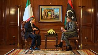 Libya: Italian PM Mario Draghi in Tripoli in first overseas trip as leader