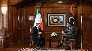 """Mario Draghi en Libye pour """"reconstruire une vieille amitié"""""""