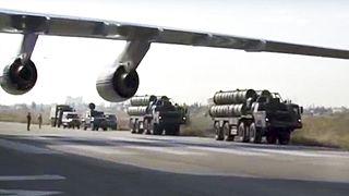 A kép illusztráció! S-400s légvédelmi rendszerek egy szíriai légibázison