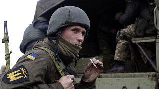 Donbas'taki Ukrayna birlikleri