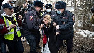 بازداشت هواداران الکسی ناوالنی در روسیه